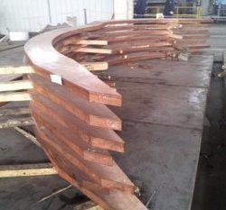 Haute résistance au stress de grandes pièces forgées en alliage de cuivre