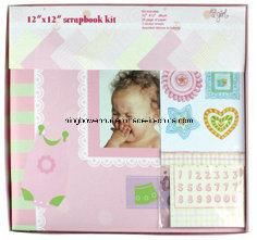 """12 de Uitrusting van het Album van het Plakboek van het Document van het Meisje van de Baby van """" X12 """""""