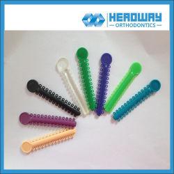 Ligadura de ortodoncia Empate de material dental con CE, ISO, la FDA