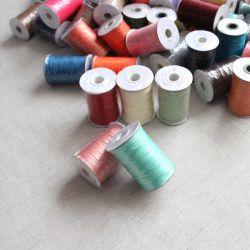 DIY Gros cordon ciré ciré cordon Polyester Chaîne d'artisanat