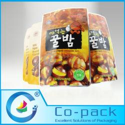 L'aluminium aluminium laminé Stand up Pouch pour écrous/Fruits séchés/ semences à l'emballage