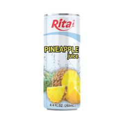 330mlはパイナップルフルーツジュースの飲み物を缶詰にした