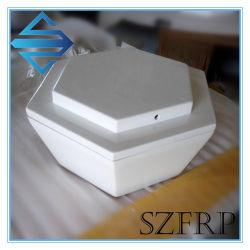 Radôme en fibre de verre PRF antenne radôme GRP radôme en fibre de verre de logement Le logement de l'antenne de PRF GRP Carter de l'antenne main en fibre de verre produit lay-up