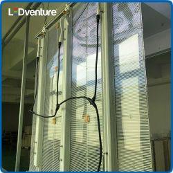Shenzhen painel transparente recordações Publicidade Display LED óculos