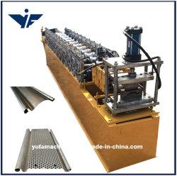 Galvanisierte hydraulische Ausschnitt-Walzen-Blendenverschluss-Tür-Latte-Stahlrolle, die Maschinen-Fabrik-Preis bildet