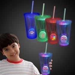 La lumière jusqu'Travel tasse avec empiècement imprimé personnalisé