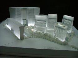 Modelo de escala, Prédio de modelo de Cristal (JW-246)