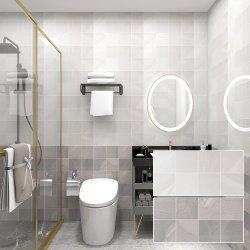 30X60 Cor Cinza banheiro azulejos de parede em cerâmica vidrada