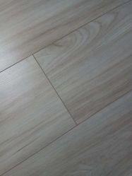 容易な低下のUnilinクリック12mm Eirマットの表面のV溝の木の積層か薄板にされたフロアーリング