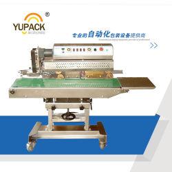 Acero inoxidable de alta velocidad de alimentación automática continua/Sellador Sellador de bolsas de plástico
