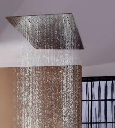 400*800mm carré montés au plafond de la tête de douche de pluie