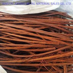 Scarto di rame pulito di Millberry di qualità di battimento/collegare dello scarto/rame di rame 99.9% dello scarto