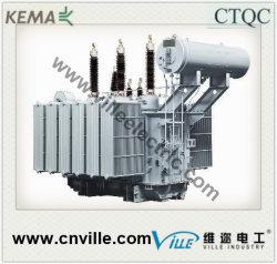 220kv 120mva avec transformateur de puissance sur charge changeur robinet/ transformateur de distribution pour l'usine d'alimentation