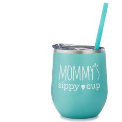 De aço inoxidável isolado copo de vinho uma caneca de cerveja Sippy Cup presente de promoção para o homem e a Mulher