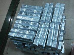 El antimonio de lingotes de estaño sn la pureza del 99,95% de lingotes de estaño metal
