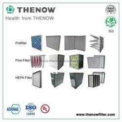 Filtri dell'aria utilizzati nel riscaldamento e nella ventilazione e nei sistemi di condizionamento d'aria
