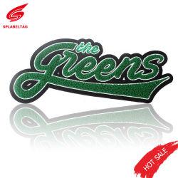 Los fabricantes el hierro en el diseño de moda personalizada Logotipo personalizado bordado Parches de chenilla cartas