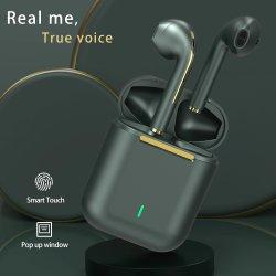 Annulation de bruit de vente chaude écouteurs écouteurs écouteurs Bluetooth sans fil Bluetooth 5.0 J18 Tws casque Bluetooth