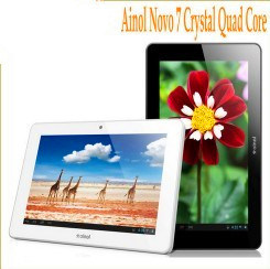 Ainol Novo 7 Crystal Quad Core 1 Go/8 Go 7 pouce Android 4.1 ATM IPS Jelly Bean7029 Quad Core 1,5GHZ Tablet PC WiFi