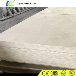 Los rayos UV de alto brillo de alta calidad placa de contrachapado de abedul muebles Prefinished