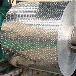 Plaque de diamants en aluminium léger et doux 1100 Bobine de feuilles en aluminium avec revêtement en PVC