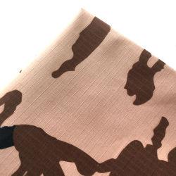 면 폴리에스테 65/35의 길쌈된 Ripstop 육군 위장 직물