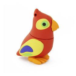 創造的な製品およびギフトPVCかわいい鳥の漫画図鳥USB 2.0