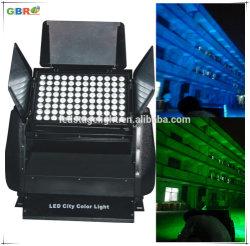 Gbr im Freien Architekturwand-Unterlegscheibe-/Stadt-Farben-Licht der beleuchtung-96PCS 10W LED