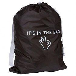 Coulisse de polyester, commerce de gros sac à linge portable en nylon résistant réutilisables 190T 210d une salle de Gym Natation Sport Promotion Sac de pliage de lavage à sec