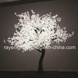 Indicatore luminoso artificiale commerciale dell'albero dell'acero rosso di motivo LED del giardino esterno per la memoria di festa
