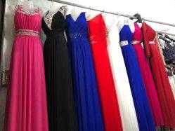 Lady's vestido largo Diseño Popular Stocks de prendas de vestir