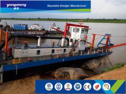 600-5000m3/H de areia de sucção do cortador hidráulico Draga no rio ou mar