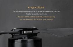 T-Motor-P80-X Kv120 ESC-Motor in 1 Landwirtschafts-Drohne-Montierung