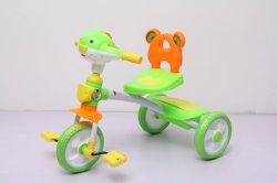 Crianças de plástico de triciclo Cartoon Design de cabeça para as crianças viajem em