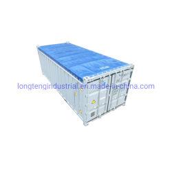De Dekking van het Geteerde zeildoek van pvc de Zachte Open Verschepende Container van 20 Voet