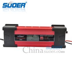 Lader van de Batterij van Suoer 12V 20A de Intelligente Slimme Snelle met Ce (gelijkstroom-W1220A)