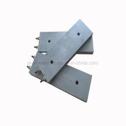 Aluminio eléctricos emitidos en la placa de calefacción calefacción con terminales