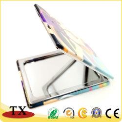 Schönes tägliches Gebrauch-Metallreflektierender Pocket Spiegel mit kosmetischem Spiegel
