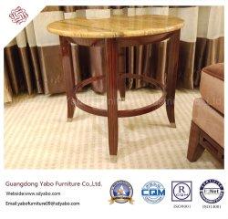 Hotel comercial mobiliario con mesa de café de mármol (YB-O-10)