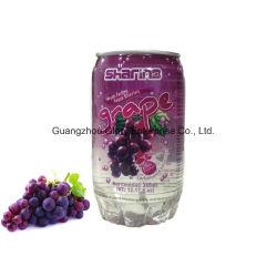 345ml pode Pet transparente de refrigerantes de sumo de uvas bebida Soda