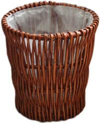 버드나무에 의하여 길쌈되는 저장 물통 수직 쓰레기통