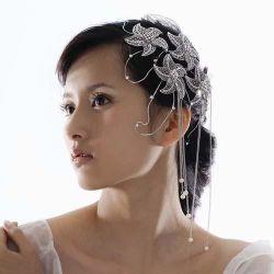 Nuevo plato coreano de la horquilla de cabello accesorios de boda novia