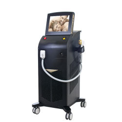 常置痛みのないIPL Shr Elight毛のDepilation 808 Nm Diodo機械のためのアルマレーザーのソプラノ毛の取り外し808nm 3の波長のダイオードレーザーの美容院装置