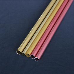China Perfil Personalizado Alumínio extrudido rodada/Square/Oval Tubo extrudido/tubos/tubos/tubulações