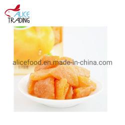 China Proveedor de frutas en conserva seca orgánica natural Precio Melocotón amarillo