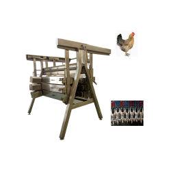 نوع عمودي دواجن الغوس برولر الدجاج بلوكر / الدجاج جهاز إزالة العثر