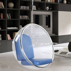 현대와 유행 거실 침실 옥외 여가 거는 의자