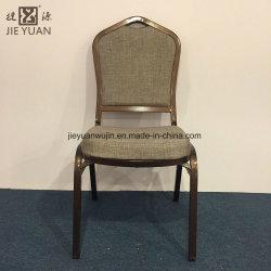 의자를 식사하는 연회를 겹쳐 쌓이는 Duable 호텔 철