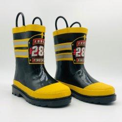 Bombeiro Kids Piscina chuva à prova de botas botas de borracha