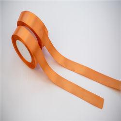 3mm-75mm Logo d'impression ruban de satin de soie ruban 100 % polyester pour présenter l'emballage